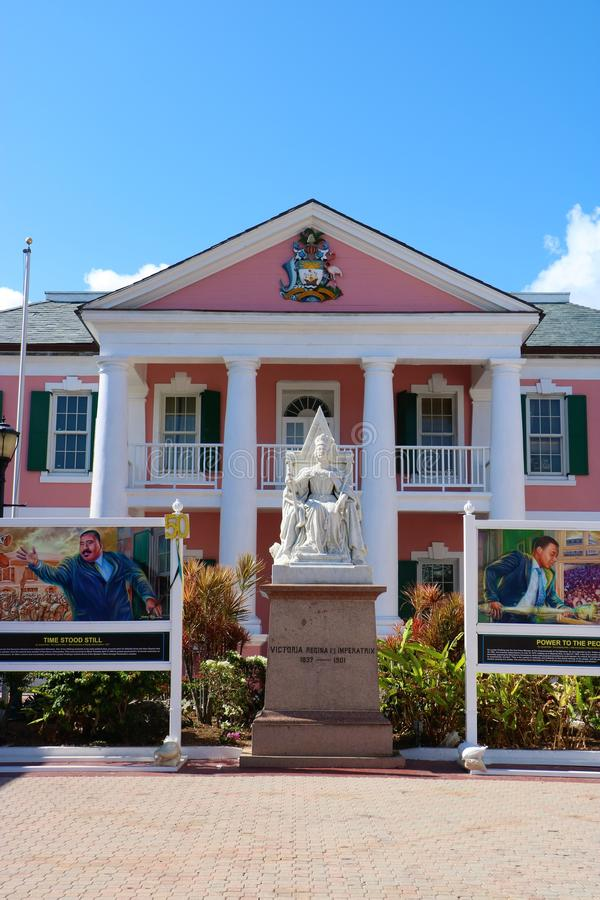 Bâtiment de sénat des Bahamas photos libres de droits