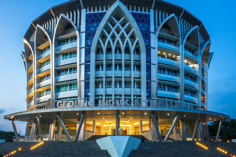Bâtiment de Siti Walidah images stock