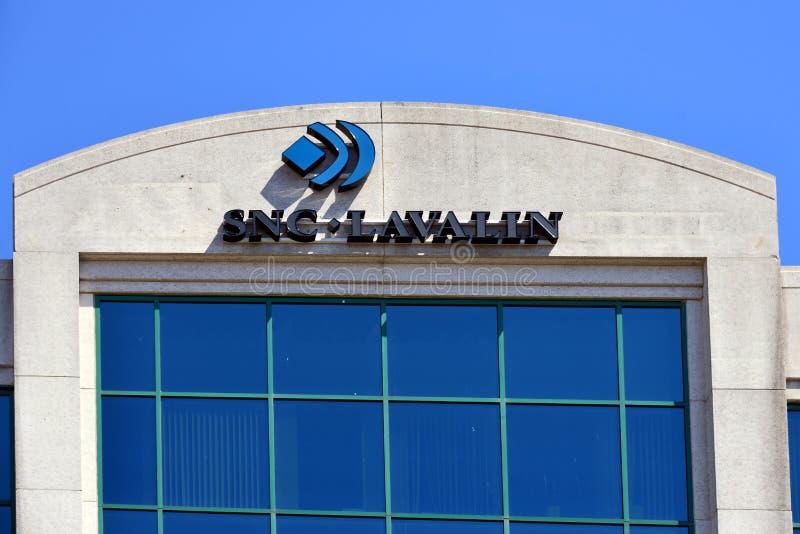 Bâtiment de SNC Lavalin à Ottawa, Canada photos stock