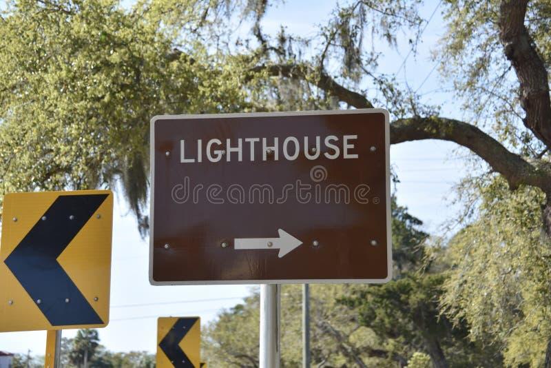Bâtiment de tour de phare photo libre de droits