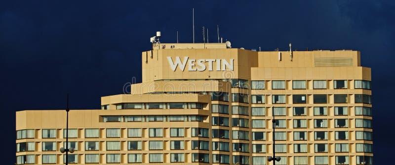 Bâtiment de Westin à Ottawa au Canada image stock