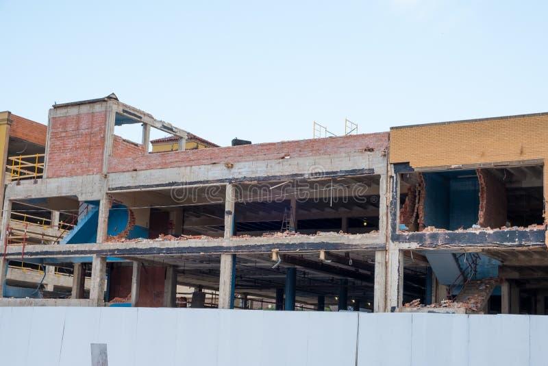 Bâtiment Demo San Antonio photo libre de droits