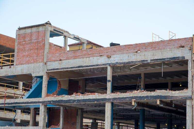 Bâtiment Demo San Antonio image libre de droits