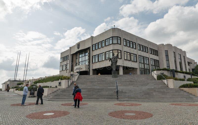Bâtiment du Parlement à Bratislava, Slovaquie photo stock