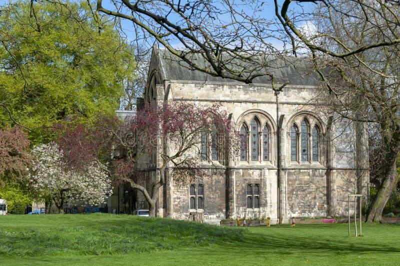 Bâtiment du vieux palais à doyens Park dans la ville de York, North Yorkshire, Angleterre, R-U, également connu sous le nom de bi photo stock
