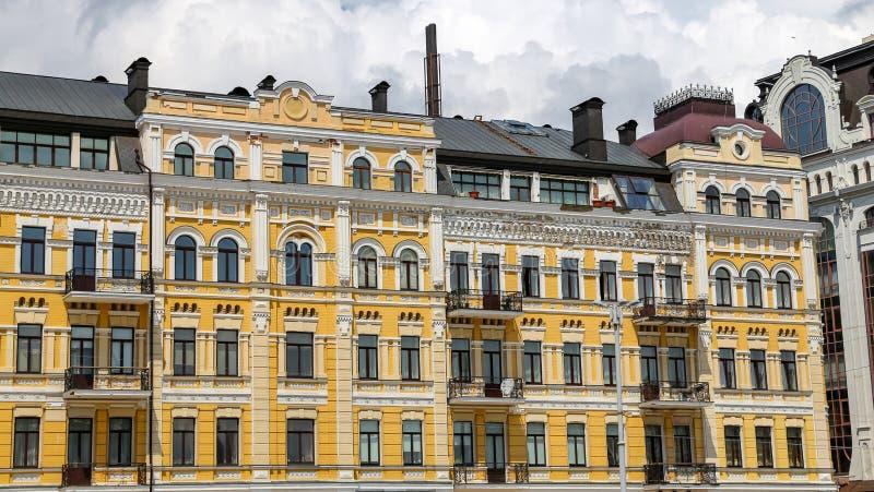 Bâtiment en Sophia Square, Kiev, Ukraine photo stock