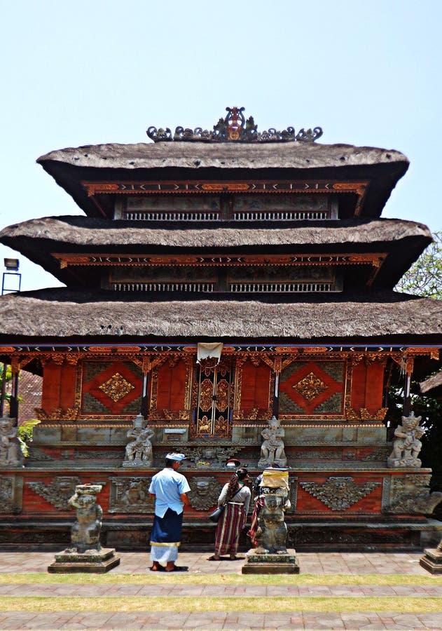 Bâtiment ethnique de Bali image libre de droits