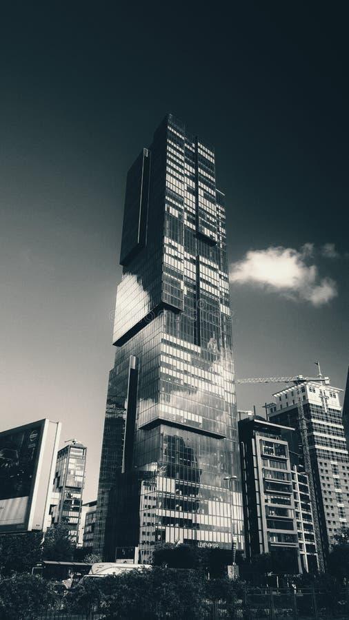 Bâtiment extrèmement haut photos stock