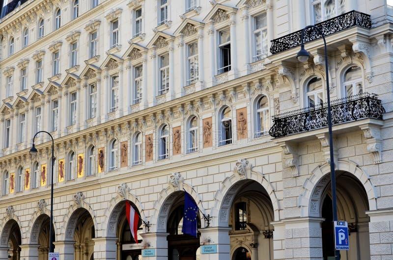 Bâtiment historique à Vienne photos stock