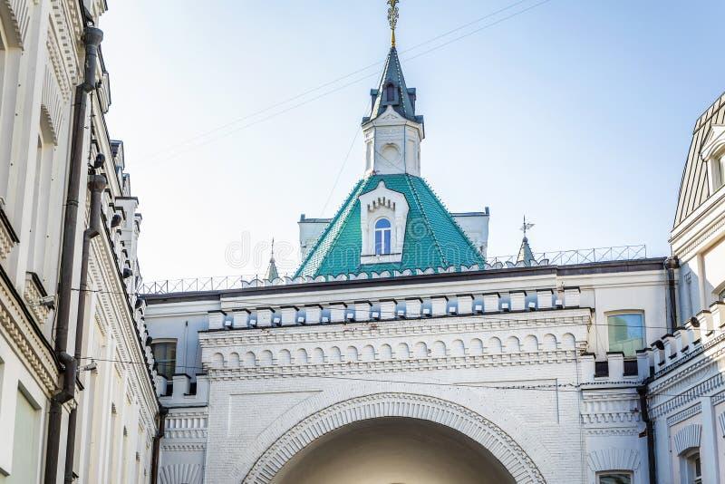 Bâtiment historique dans une grande ville Plan rapproch? photos stock