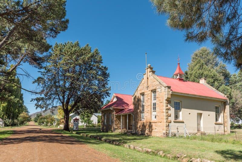 Bâtiment historique de bureau de poste en Rhodes image stock
