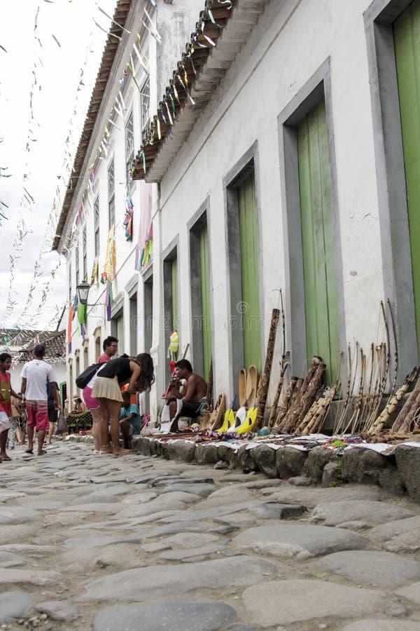 Download Bâtiment Historique De Paraty En Rio De Janeiro Brazil Photo éditorial - Image du façade, baroque: 87700716