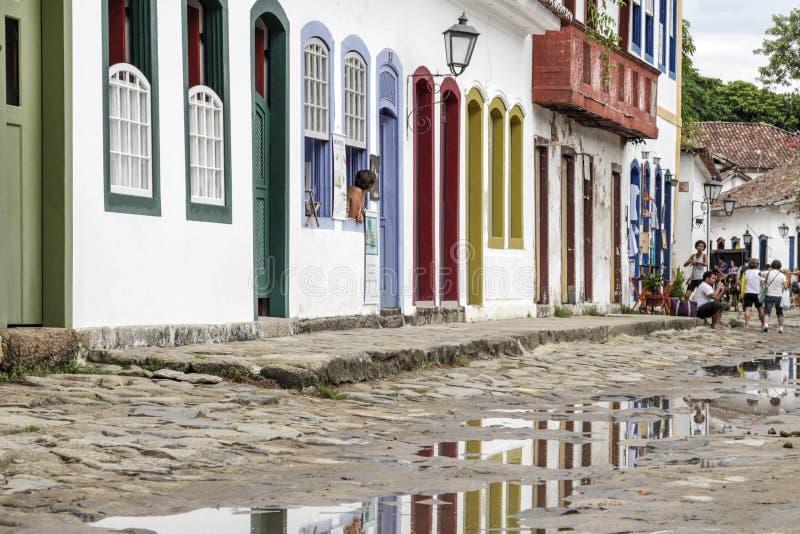 Download Bâtiment Historique De Paraty En Rio De Janeiro Brazil Photo stock éditorial - Image du maçonnique, colonial: 87700718
