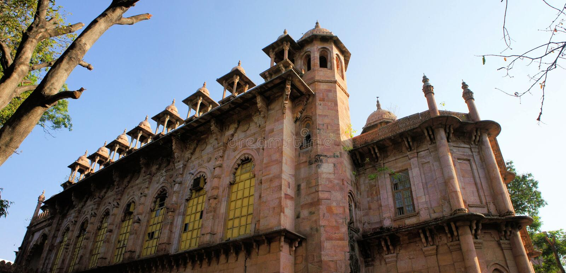 Bâtiment indien de style de palais dans Chennai, Inde image libre de droits