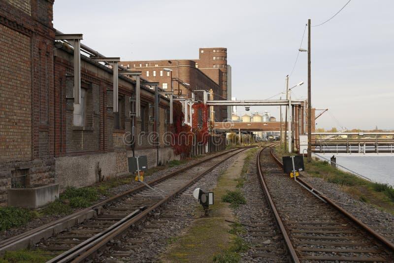 Bâtiment industriel historique image stock
