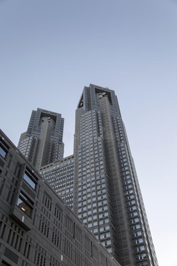 Bâtiment métropolitain de gouvernement de Tokyo au Japon images stock