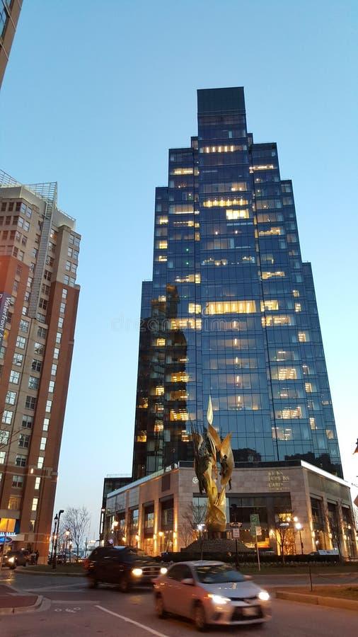 Bâtiment moderne à Baltimore image libre de droits
