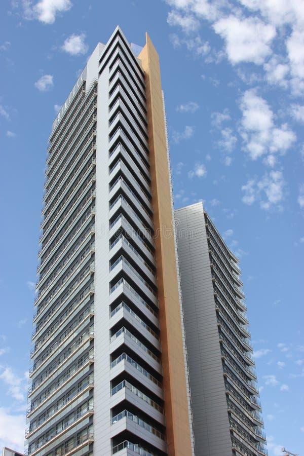 Bâtiment moderne de Barcelone images libres de droits