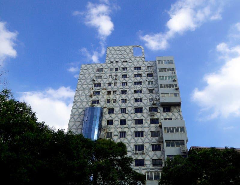Bâtiment moderne grand à Changhaï photo libre de droits