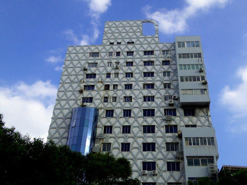 Bâtiment moderne grand à Changhaï photos libres de droits