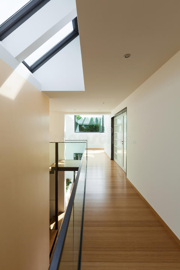 Bâtiment moderne, intérieur photos stock