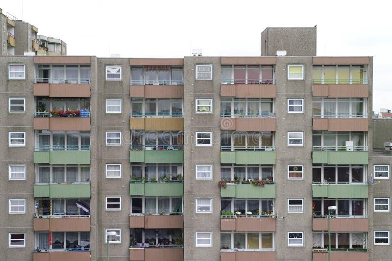 Bâtiment résidentiel dans le secteur de Gesundbrunnen, Berlin, Allemagne photos stock
