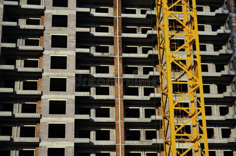 Bâtiment sous Construciton image libre de droits