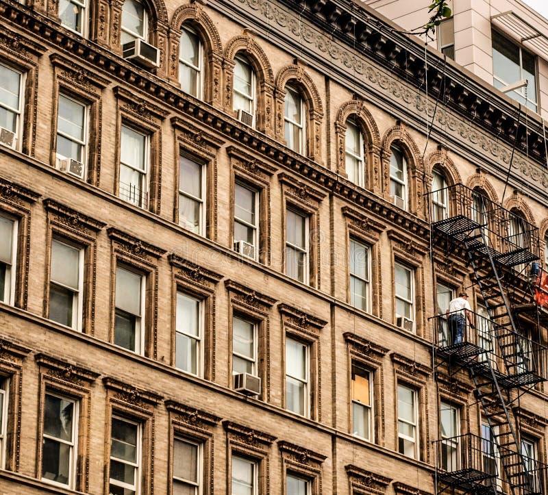 Bâtiment typique de New York image libre de droits