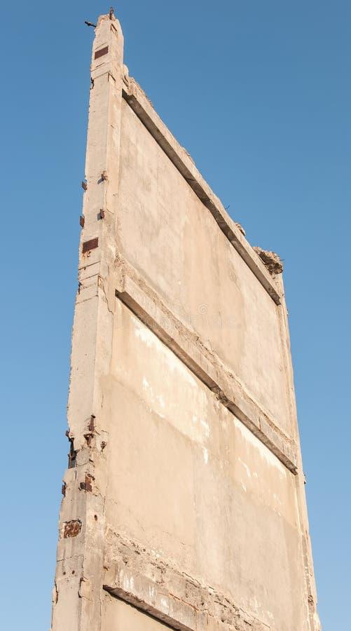 Bâtiment vivant Destroyed après bombardement photo libre de droits
