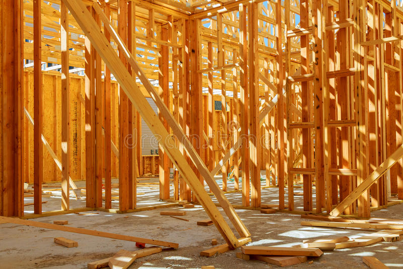 Bâtiment vue ou maison résidentielle avec de base images libres de droits