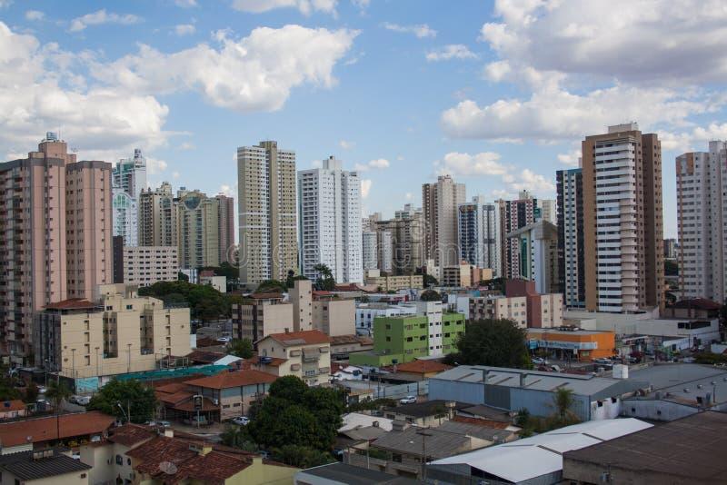 Bâtiments à Goiania images libres de droits