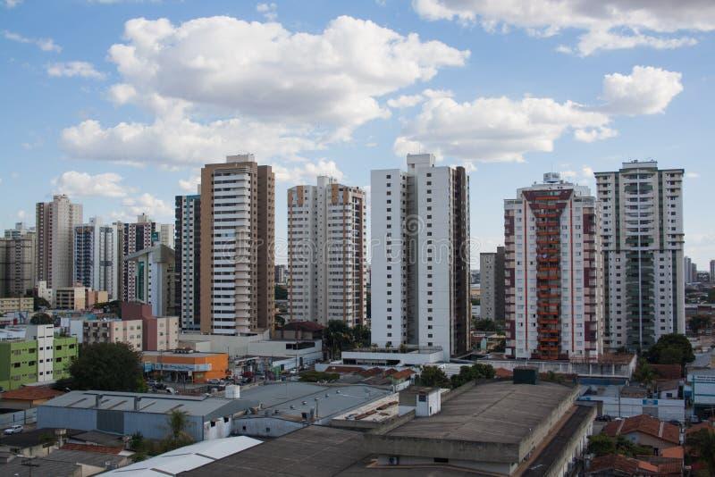 Bâtiments à Goiania image libre de droits