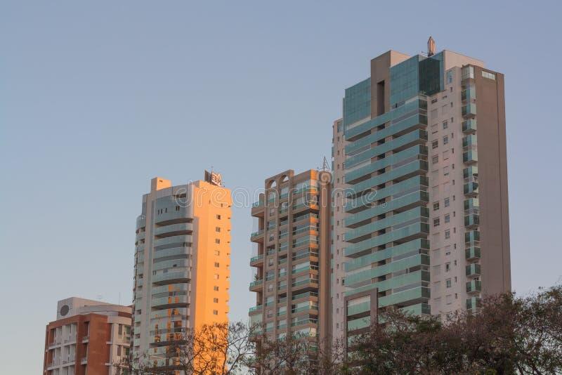 Bâtiments à Goiania photo stock
