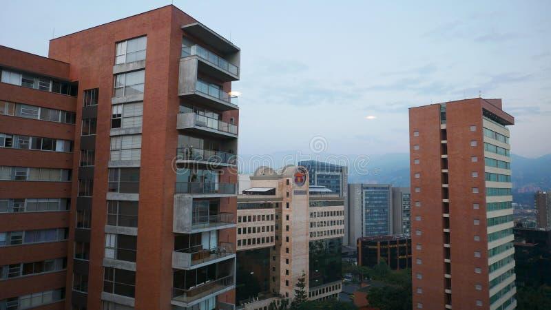 Bâtiments à Medellin, Colombie image stock