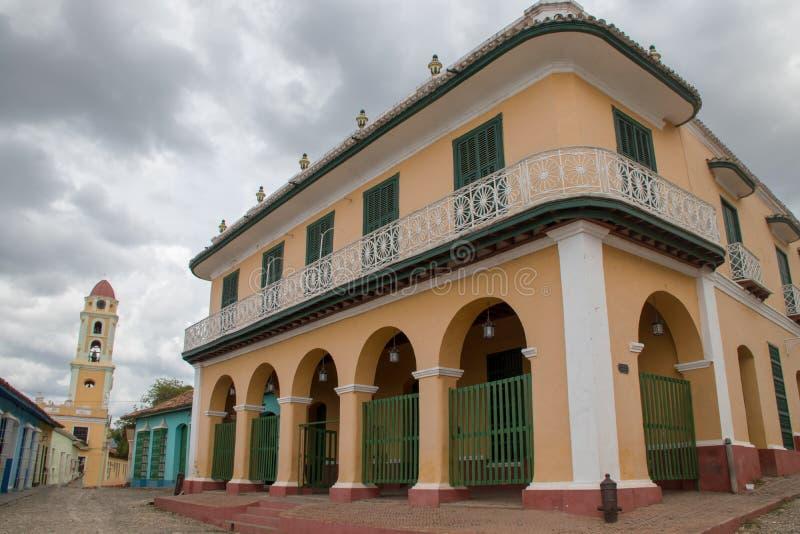 Bâtiments coloniaux espagnols au Trinidad, Cuba image libre de droits