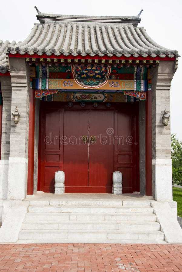 B timents d 39 antiquit de la chine d 39 asiatique portes porte photo stock image du construction - Porte asiatique ...