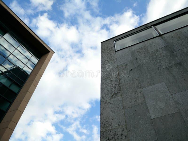 Bâtiments d'université de Newcastle photos libres de droits