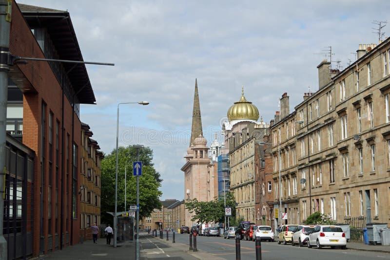 Bâtiments dans la ville de Glasgow photo stock