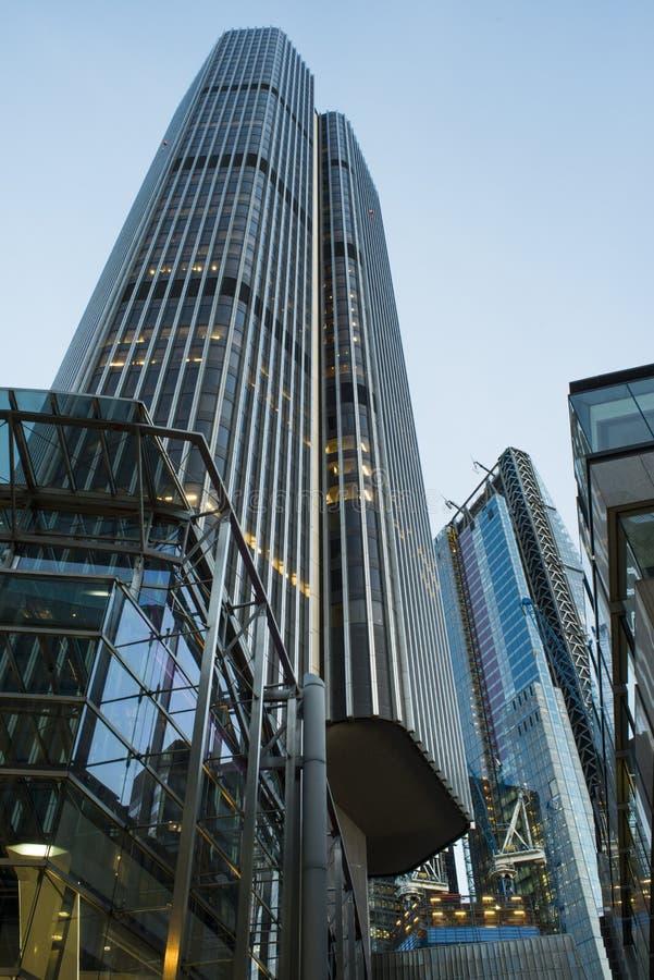 Bâtiments dans la ville de Londres photo stock