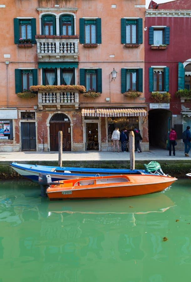 Bâtiments dans Murano images libres de droits