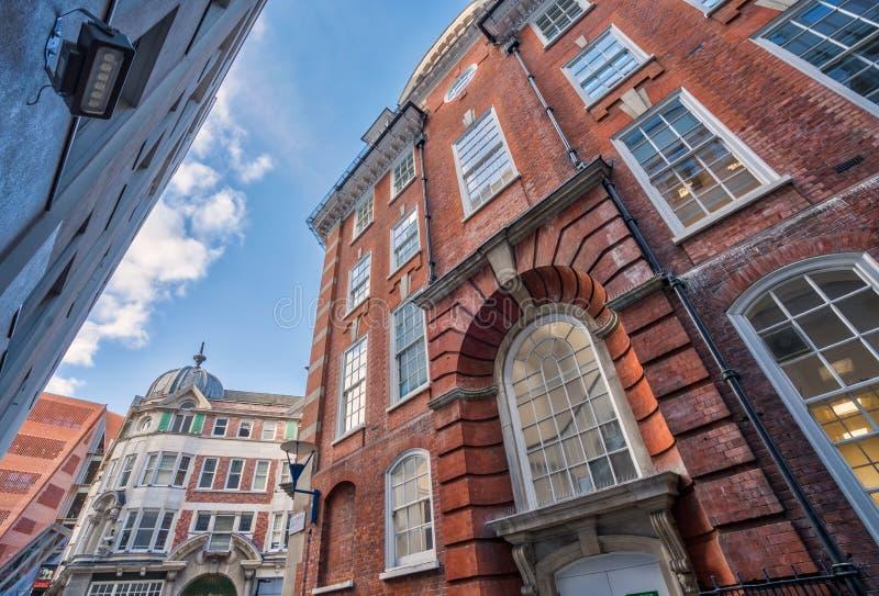 Bâtiments de campus à London School of Economics photos libres de droits