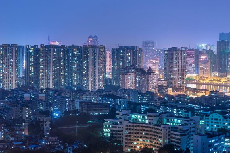 bâtiments denses image libre de droits