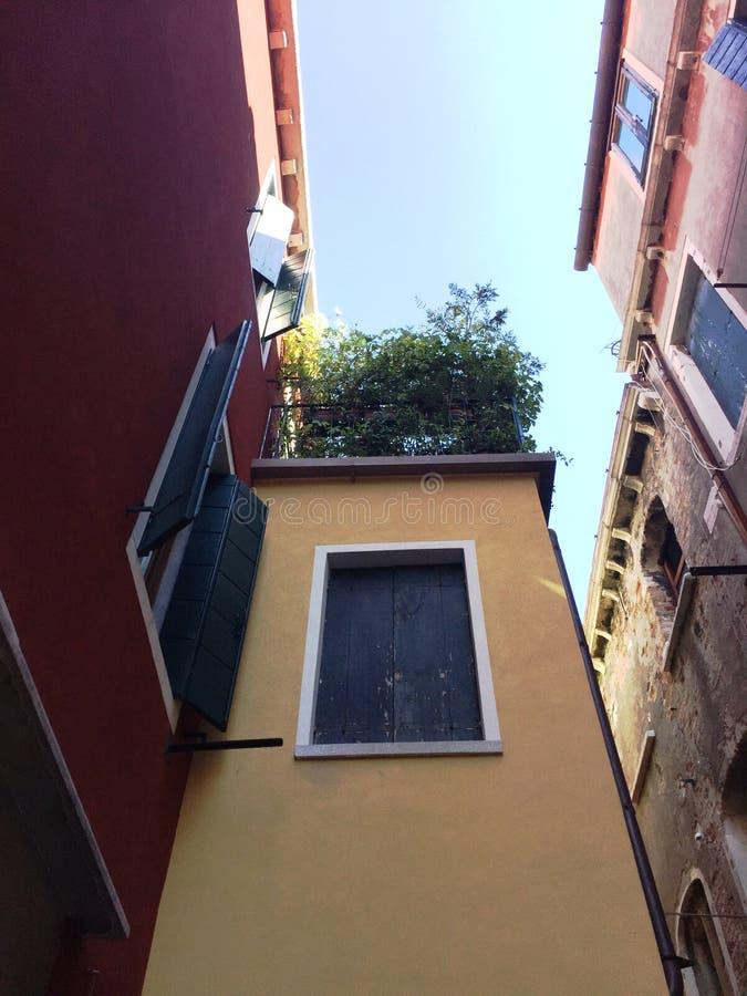 Bâtiments et architecture à Venise image libre de droits