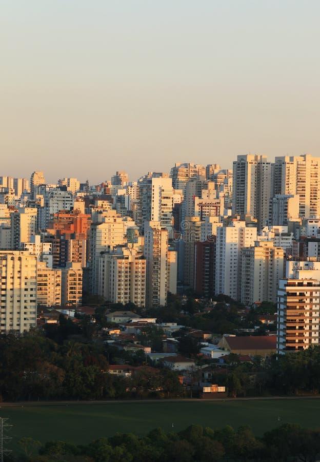 Bâtiments et maisons, Sao Paulo images libres de droits