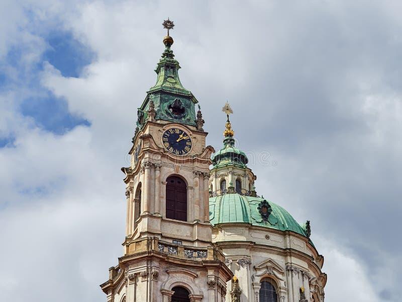 Bâtiments et rues de Prague, République Tchèque image stock