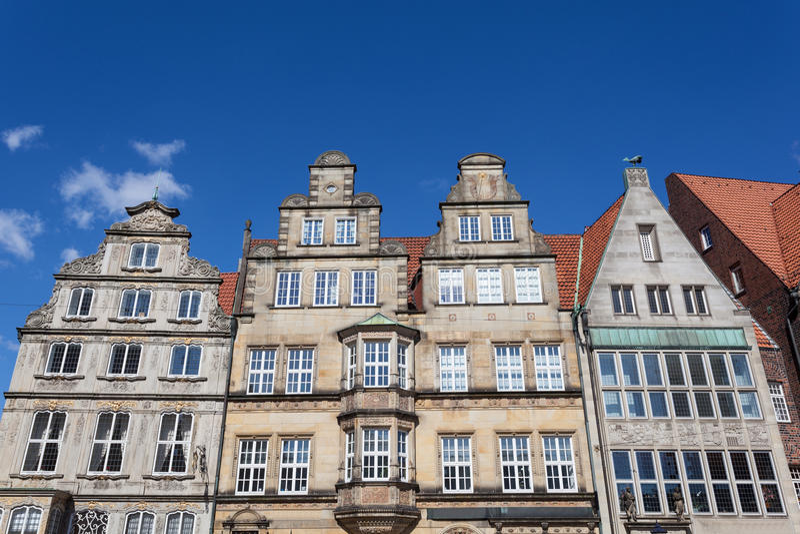 Bâtiments historiques à Brême, Allemagne images libres de droits