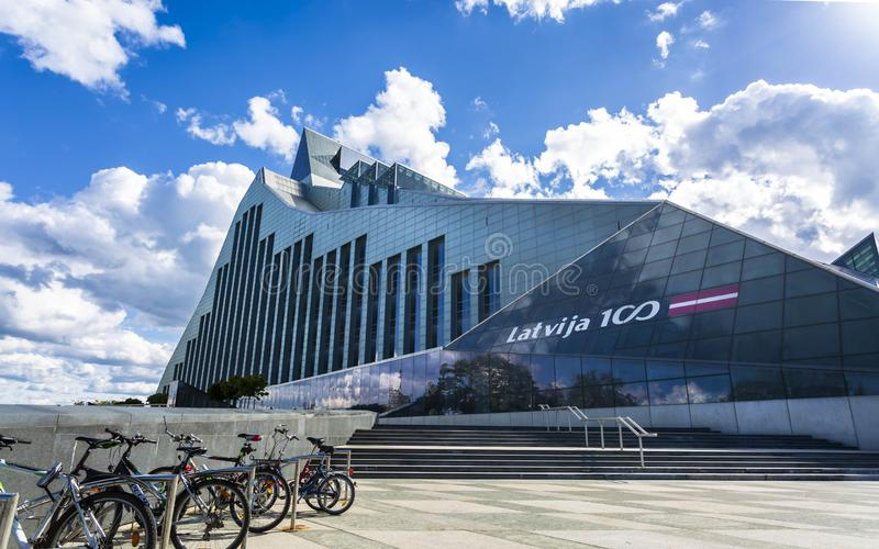 Bâtiments historiques à vieux Riga image libre de droits