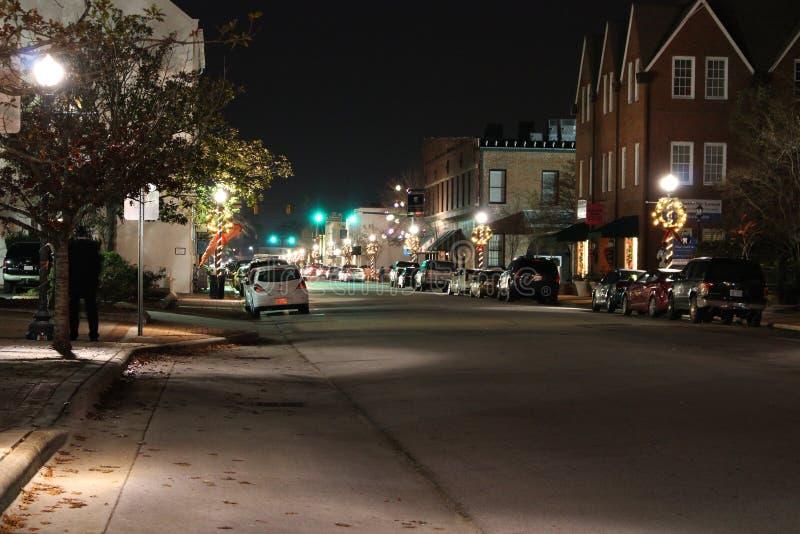 Bâtiments historiques dans nouveau Bern North Carolina image libre de droits