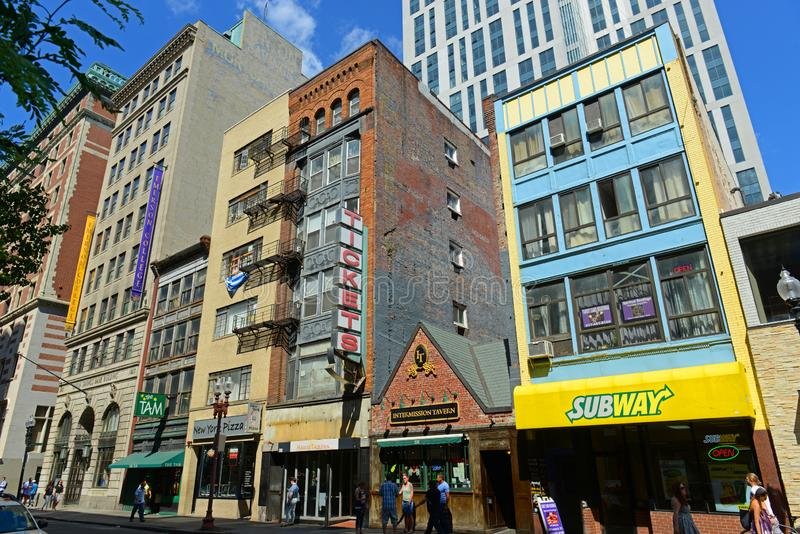 Bâtiments historiques de Boston, le Massachusetts, Etats-Unis photographie stock