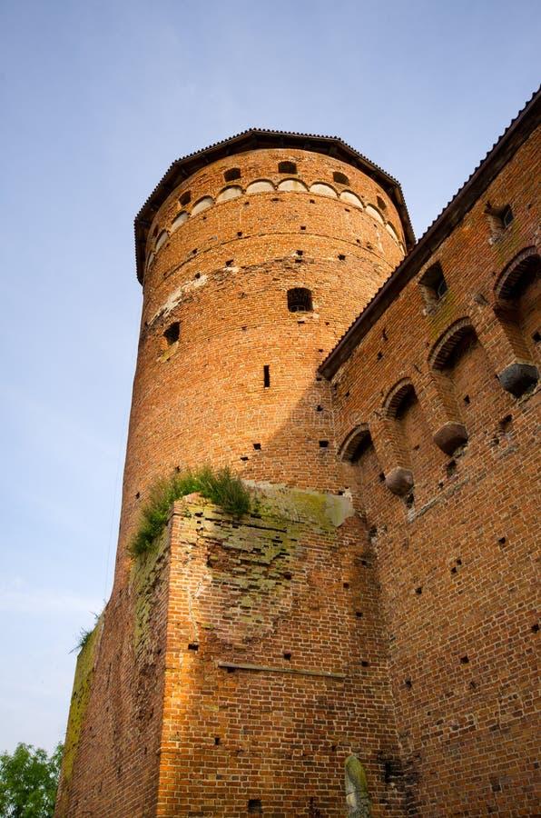 Bâtiments impressionnants dans Reszel, Pologne photographie stock libre de droits